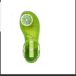Katy perry geli jelly lime sandals new